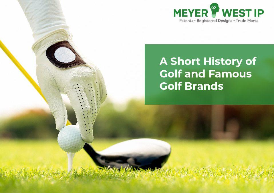 Meyerwest IP - short History of Golf