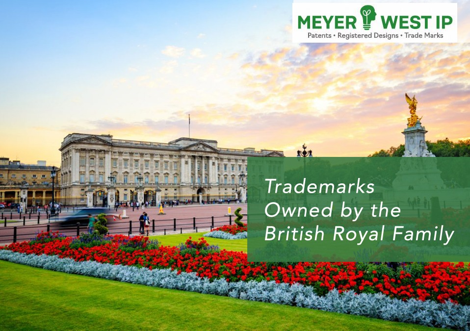 Trademarks owned by the british royal family