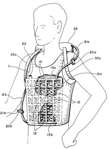 Patent 5 201 365 – Wearable Air Conditioner