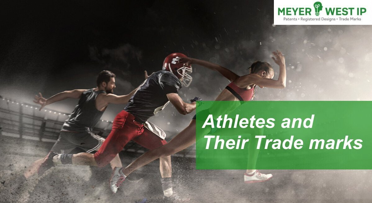 Athletes and Their Trade marks